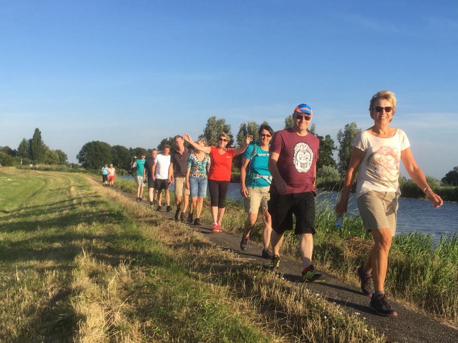 3 juli wandeling in Kudelstaart