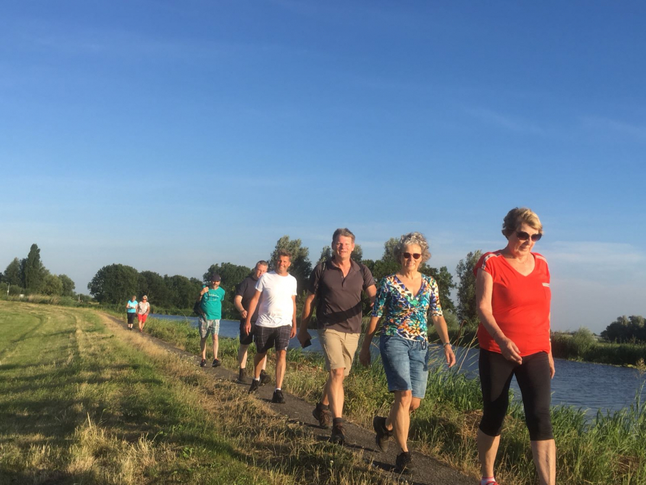 Dinsdag 3 juli 2018 wandeling in Kudelstaart
